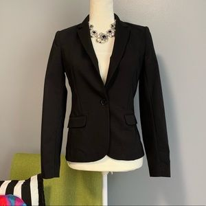 H&M Classic Black Tailor Fitted Blazer